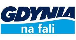 logo projektu gdynia na fali
